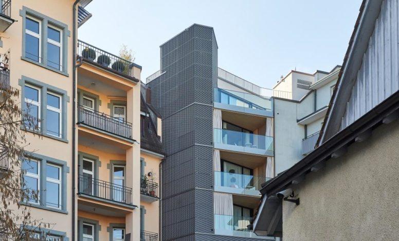 Hoffassade Hotel Anker, Luzern