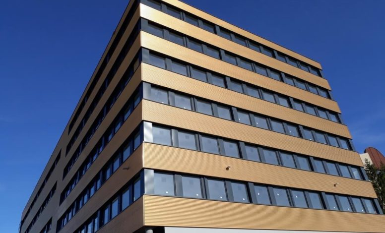 Gebäudehülle Gewerbepark Rieder, Rothenburg