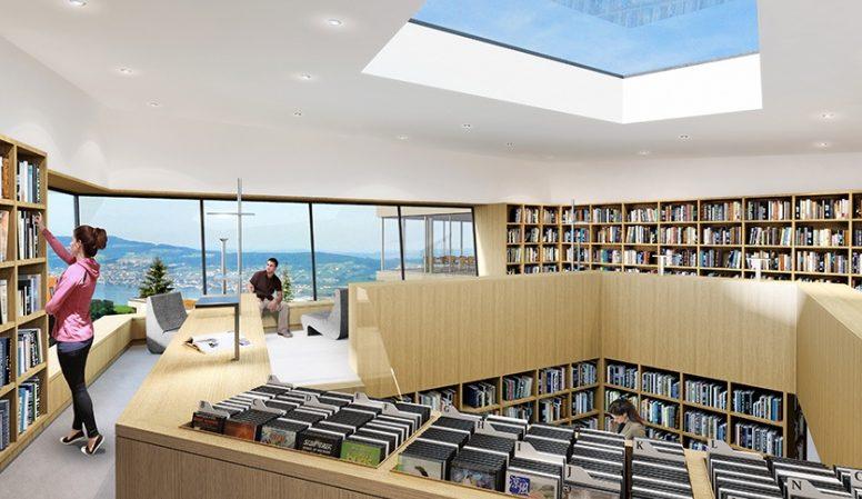 Schulraumerweiterung mit Gemeindebibliothek, Schindellegi