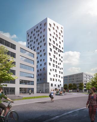 Hochhaus Mattenhof Baufeld C, Horw