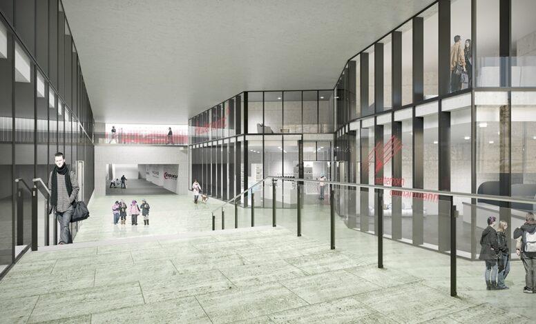 Brandschutzfassade Wohn- u. Gewerberaum Central, Andermatt