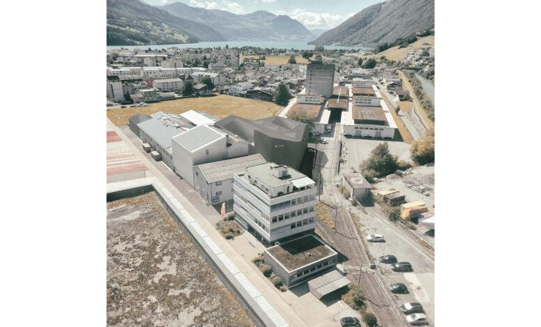 Gebäudehülle Coop Reismühle/Nutrex