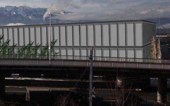 Neubau Container-Stützpunkt Armeelogistikcenter Thun